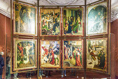 εκκλησία melk Paul Peter ST αβαείων Στοκ Εικόνες
