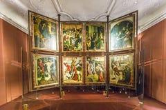 εκκλησία melk Paul Peter ST αβαείων Στοκ φωτογραφία με δικαίωμα ελεύθερης χρήσης