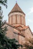 Εκκλησία Metekhi της υπόθεσης στοκ εικόνα με δικαίωμα ελεύθερης χρήσης