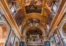 Εκκλησία Miracoli dei της Σάντα Μαρία, Ρώμη, Ιταλία Στοκ Φωτογραφία