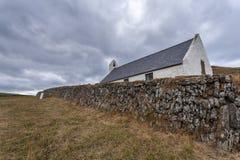 Εκκλησία Mwnt, Ceredigion, Ουαλία στοκ εικόνες με δικαίωμα ελεύθερης χρήσης