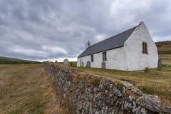 Εκκλησία Mwnt, Ceredigion, Ουαλία στοκ φωτογραφίες με δικαίωμα ελεύθερης χρήσης