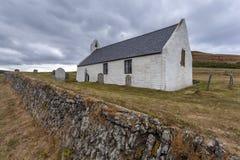 Εκκλησία Mwnt, Ceredigion, Ουαλία στοκ φωτογραφία με δικαίωμα ελεύθερης χρήσης