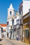 Εκκλησία NIO Antà ³ Santo, Λάγκος, Αλγκάρβε, Πορτογαλία Στοκ εικόνα με δικαίωμα ελεύθερης χρήσης