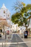 Εκκλησία NIO Antà ³ Santo, Λάγκος, Αλγκάρβε, Πορτογαλία Στοκ Φωτογραφίες