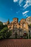 Εκκλησία Panagia Chalkeon, 11ος cectury, Ελλάδα Στοκ εικόνες με δικαίωμα ελεύθερης χρήσης