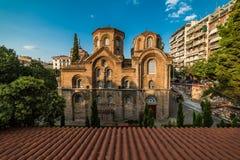 Εκκλησία Panagia Chalkeon, 11ος cectury, Ελλάδα Στοκ Εικόνες