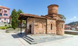 Εκκλησία Panagia Koumpelidiki, ορόσημο της πόλης της Καστοριάς, Μακεδονία, Ελλάδα στοκ εικόνα με δικαίωμα ελεύθερης χρήσης