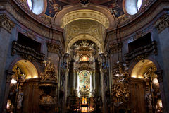 εκκλησία Peter peterskirche s ST Στοκ φωτογραφίες με δικαίωμα ελεύθερης χρήσης