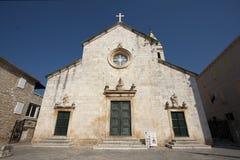 εκκλησία Peter s ST supetar Στοκ φωτογραφία με δικαίωμα ελεύθερης χρήσης