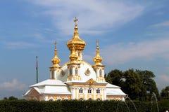 εκκλησία peterhof Στοκ Φωτογραφία