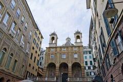 εκκλησία Pietro SAN τραπεζών Στοκ Εικόνες