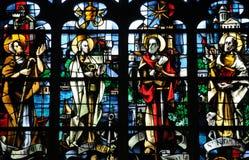 Εκκλησία Pont de λ arche στο Λ Eure Στοκ Φωτογραφίες