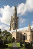 εκκλησία s ST wulfram στοκ εικόνα
