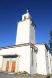εκκλησία s stamsund Στοκ φωτογραφία με δικαίωμα ελεύθερης χρήσης