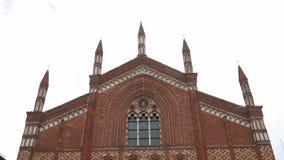 Εκκλησία SAN Francesco στην Παβία, PV, Ιταλία απόθεμα βίντεο