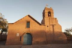 Εκκλησία SAN Pedro de Atacama, έρημος Atacama, Χιλή στοκ εικόνες