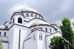 Εκκλησία sava Sveti orhtodox Στοκ φωτογραφία με δικαίωμα ελεύθερης χρήσης