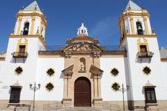 Εκκλησία Socorro στη Ronda Στοκ εικόνες με δικαίωμα ελεύθερης χρήσης