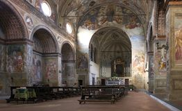 Εκκλησία Soncino Στοκ εικόνα με δικαίωμα ελεύθερης χρήσης