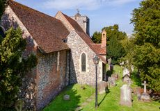 Εκκλησία ST Martin στη νοτιοανατολική Αγγλία UK του Καντέρμπουρυ Κεντ στοκ φωτογραφία