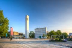 Εκκλησία Steinkjer στο κέντρο της πόλης Στοκ φωτογραφία με δικαίωμα ελεύθερης χρήσης