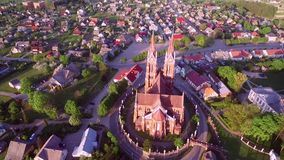 Εκκλησία Sveksna στη Λιθουανία απόθεμα βίντεο