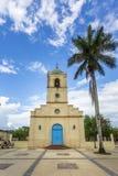 Εκκλησία Vinales, ΟΥΝΕΣΚΟ, Vinales, επαρχία του Pinar del Rio, Κούβα, Δυτικές Ινδίες, Καραϊβικές Θάλασσες, Κεντρική Αμερική στοκ εικόνες