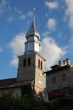 εκκλησία yvoire Στοκ εικόνα με δικαίωμα ελεύθερης χρήσης
