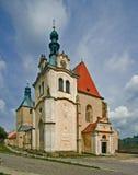 Εκκλησία 01 Zlutice Στοκ Φωτογραφίες