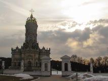 Εκκλησία Znamenskaya σε Dubrovitsy στοκ εικόνα με δικαίωμα ελεύθερης χρήσης