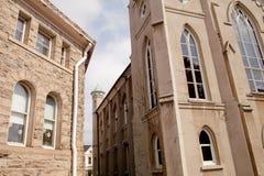 εκκλησίες δύο στοκ εικόνες