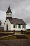 Εκκλησία Þingvellir Στοκ Φωτογραφίες