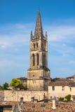 Εκκλησία Άγιος-Emilion, Gironde, Aquitaine, Γαλλία στοκ εικόνες