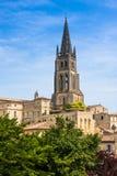 Εκκλησία Άγιος-Emilion, Gironde, Aquitaine, Γαλλία στοκ φωτογραφία