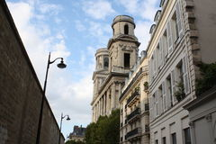 Εκκλησία Άγιος-Sulpicу Στοκ φωτογραφίες με δικαίωμα ελεύθερης χρήσης