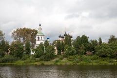 Εκκλησία άποψης της Ρωσίας Στοκ Εικόνες