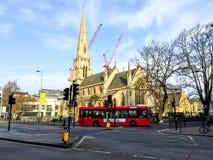 Εκκλησία αβαείων του ST Benedict σε Ealing, Λονδίνο, UK Στοκ Εικόνες