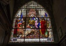 Εκκλησία Αγίου Ζακ, Compiegne, Oise, Γαλλία στοκ φωτογραφίες με δικαίωμα ελεύθερης χρήσης