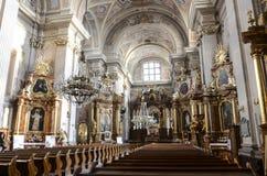 Εκκλησία Αγίου Anna, Βαρσοβία Στοκ φωτογραφία με δικαίωμα ελεύθερης χρήσης