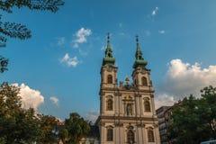 Εκκλησία Αγίου Anne στη Βουδαπέστη Στοκ Εικόνες