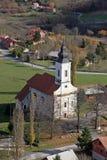 Εκκλησία Αγίου Anthony της Πάδοβας σε Bucica, Κροατία Στοκ Εικόνα