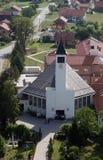 Εκκλησία Αγίου Anthony της Πάδοβας σε Lasinja, Κροατία Στοκ εικόνα με δικαίωμα ελεύθερης χρήσης