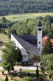 Εκκλησία Αγίου Anthony της Πάδοβας σε Lasinja, Κροατία Στοκ Εικόνες