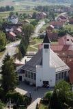 Εκκλησία Αγίου Anthony της Πάδοβας σε Lasinja, Κροατία Στοκ φωτογραφία με δικαίωμα ελεύθερης χρήσης