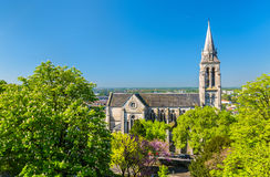 Εκκλησία Αγίου Ausone στο Angouleme, Γαλλία Στοκ Εικόνες