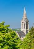 Εκκλησία Αγίου Ausone στο Angouleme, Γαλλία Στοκ φωτογραφία με δικαίωμα ελεύθερης χρήσης