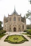 Εκκλησία Αγίου Barbara, στην πόλη Kutna Hora, Δημοκρατία της Τσεχίας στοκ εικόνες