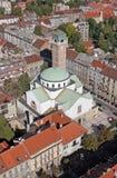 Εκκλησία Αγίου Blaise στο Ζάγκρεμπ Στοκ Εικόνα