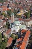 Εκκλησία Αγίου Blaise στο Ζάγκρεμπ Στοκ φωτογραφία με δικαίωμα ελεύθερης χρήσης